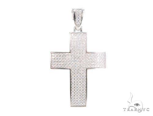 Prong Diamond Cross 44134 Diamond