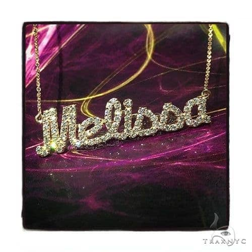 Prong Diamond Melissa Necklace 44515 Diamond