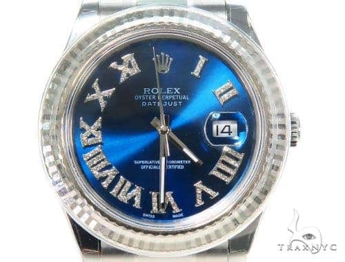 Rolex Datejust II Steel 116300 44573 Diamond Rolex Watch Collection