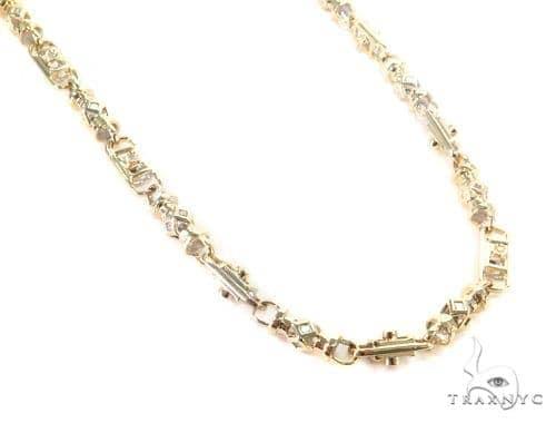 Bezel Diamond Chain 30 Inches 6mm 66.5 Grams 44703 Diamond