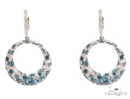 Prong Diamond Chandelier Earrings 44733 Style