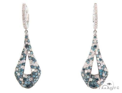 Prong Diamond Chandelier Earrings 44732 Style