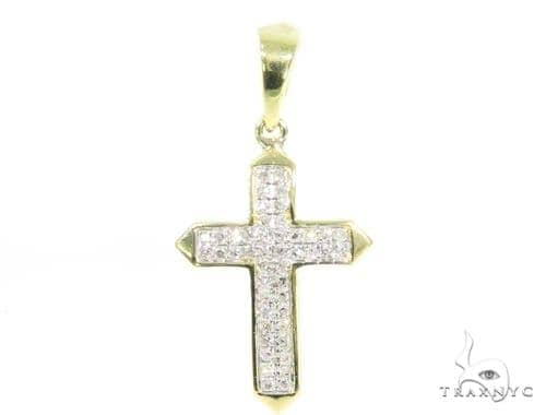 Prong Diamond Cross 44729 Diamond