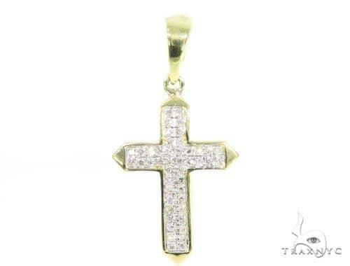 Prong Diamond Cross 44729 Diamond