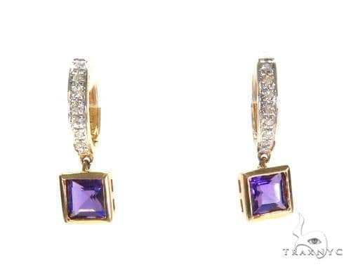 Gemstone Diamond Earrings 44750 Stone