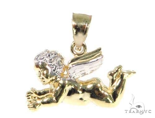 Baby Angel Gold Pendant 44934 Metal