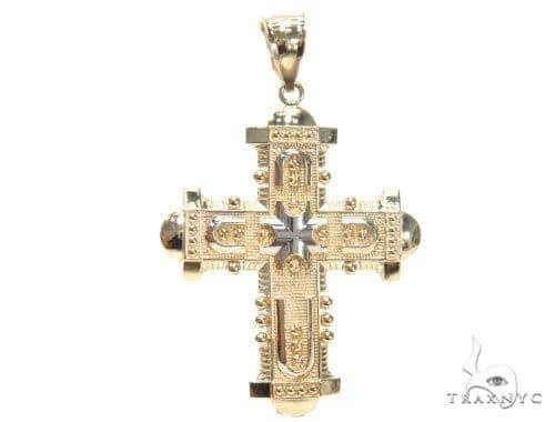 Hanging Cross 44793 Gold