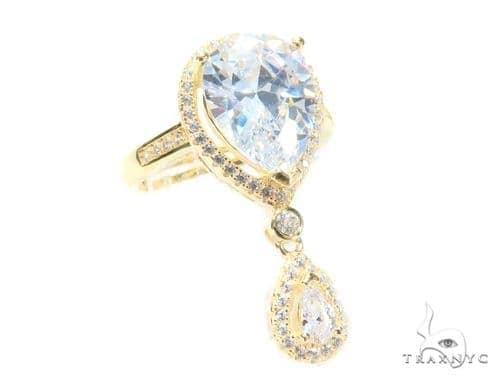 Waterdrop Silver Ring 45046 Anniversary/Fashion