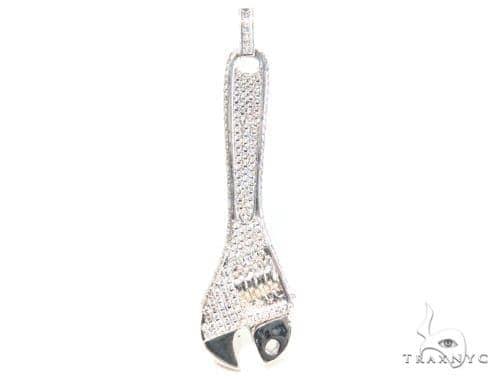 Tool Silver Pendant 45085 Metal