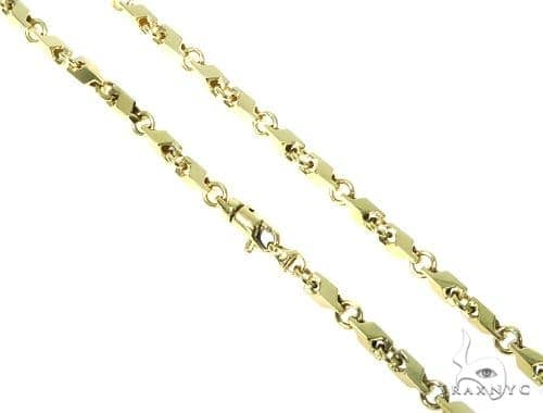 14K Gold Chain 30 Inches 4.5mm 52.2 Grams 41372 Gold