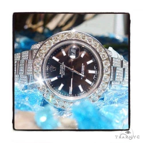 Rolex Datejust II Steel and White Gold 116334 45212