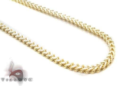 10K Gold Franco Chain 26 Inches, 3mm, 12.5 Grams 45287 Gold