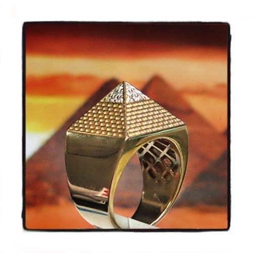 Pyramid Diamond Ring 45292 Stone