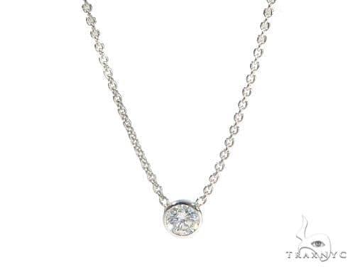 Bezel Diamond Chain 45419 ダイヤモンドネックレス