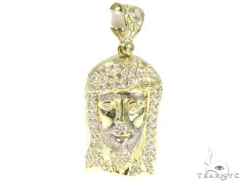 Jesus Gold Pendant 45452 Style