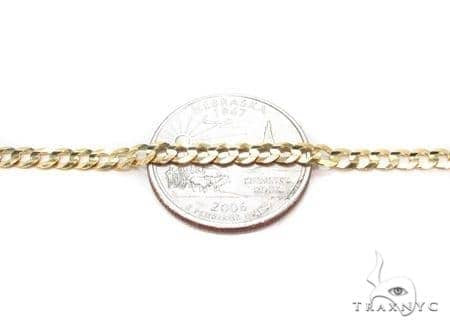 Mens 14k Solid Yellow Gold Cuban/curb Chain 22 Inches 5.8mm 19.24 Grams 47302 Gold