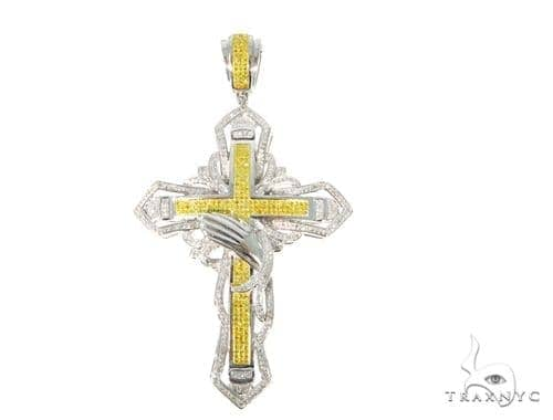 Prong Diamond Cross 45543 Diamond