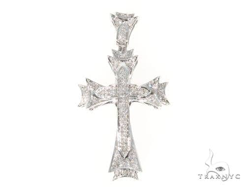 Prong Diamond Cross 45544 Diamond