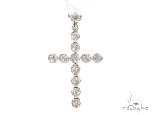 Prong Diamond Cross 45553 Diamond