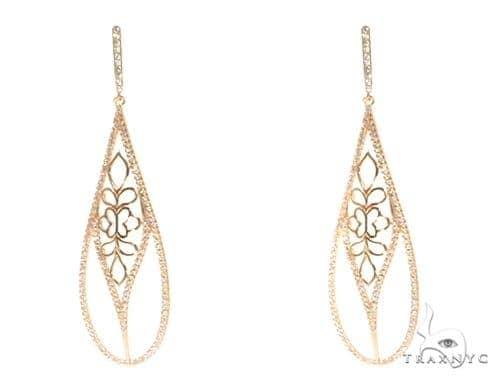 Sterling Silver Chandelier Earrings 48901 Metal