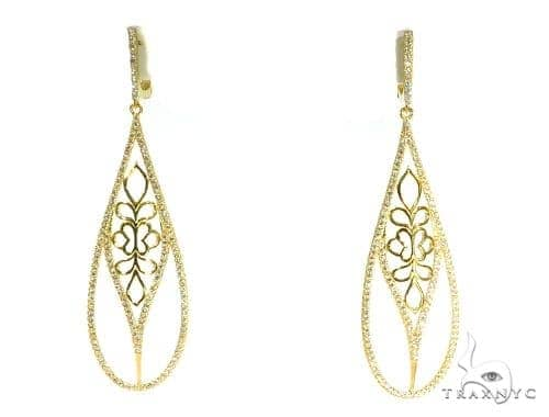 Sterling Silver Chandelier Earrings 48902 Metal