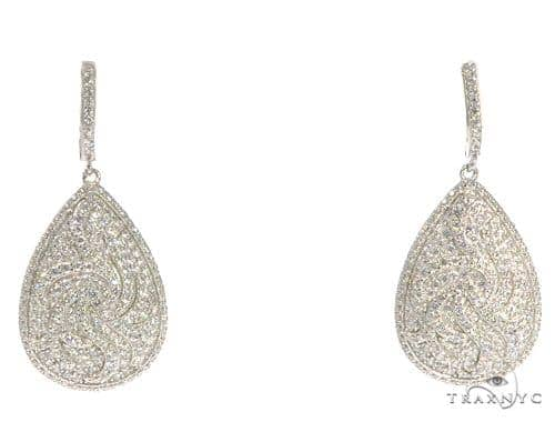 Sterling Silver Chandelier Earrings 48904 Metal