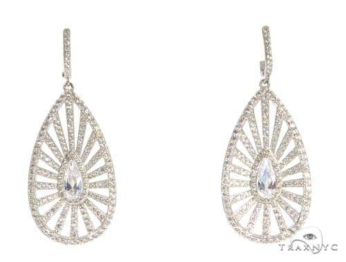 Sterling Silver Chandelier Earrings 48899 Metal