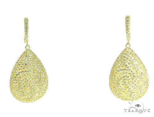 Sterling Silver Chandelier Earrings 48905 Metal