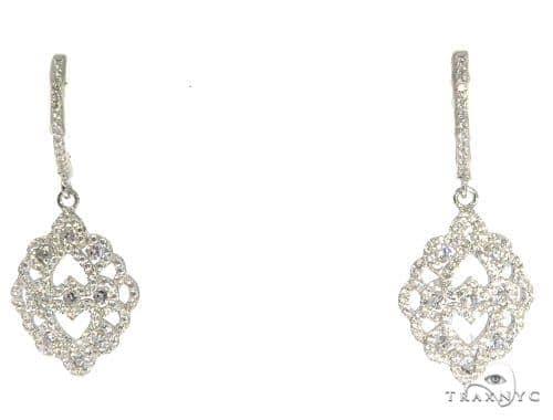 Sterling Silver Chandelier Earrings 48908 Metal