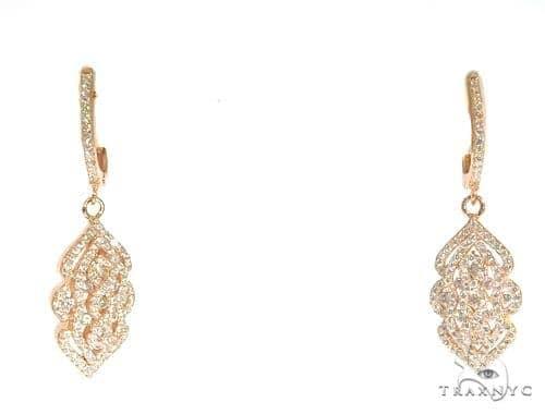 Sterling Silver Chandelier Earrings 48909 Metal