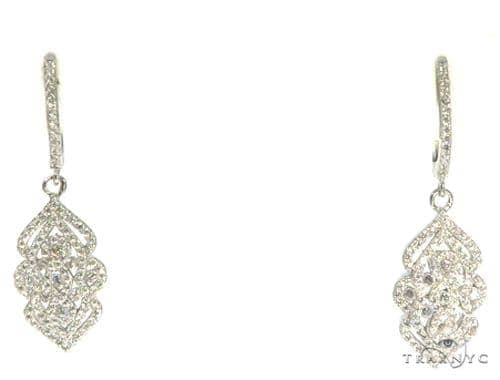 Sterling Silver Chandelier Earrings 48911 Metal