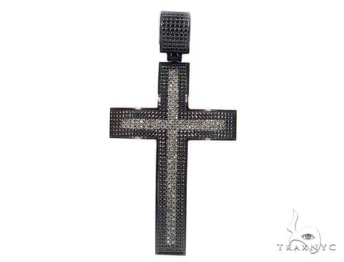 Black Classic Stainless Steel Cross 49063 Stainless Steel