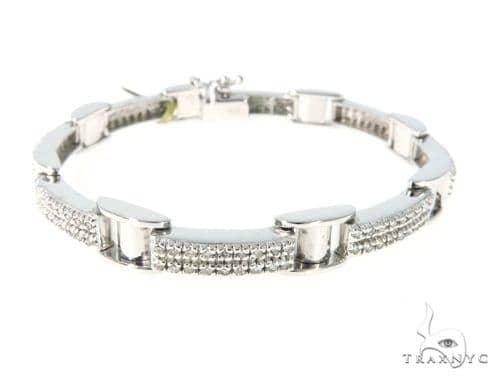 Prong Diamond Bracelet 49117 Diamond