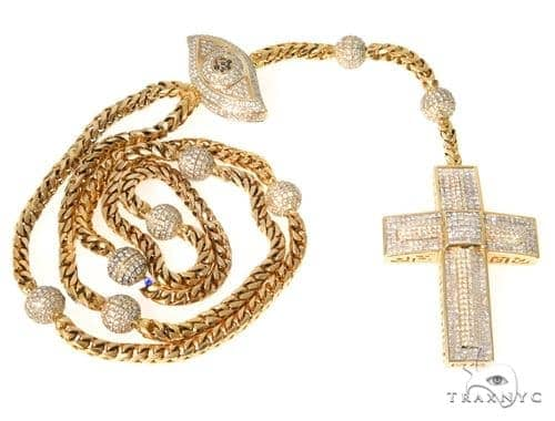 Invisible Diamond Cross Chain 49109 Diamond