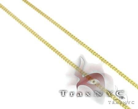 Yellow Gold Franco Chain 20 Inches, 1mm, 1.7 Grams Gold