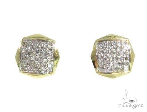 Prong Diamond Earrings 49225 Stone