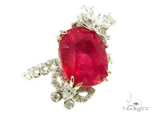Buttefly Ruby Diamond Anniversary/Fashion Ring 49005 Anniversary/Fashion