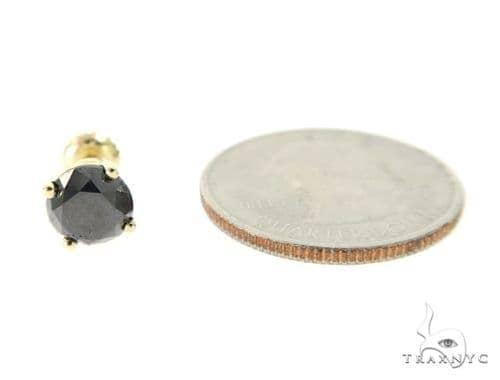 Royal Black Diamond Earrings 5 49420 Stone