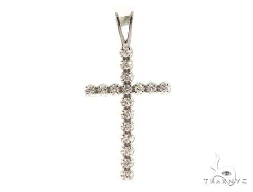 Prong Diamond Cross 49454 Diamond