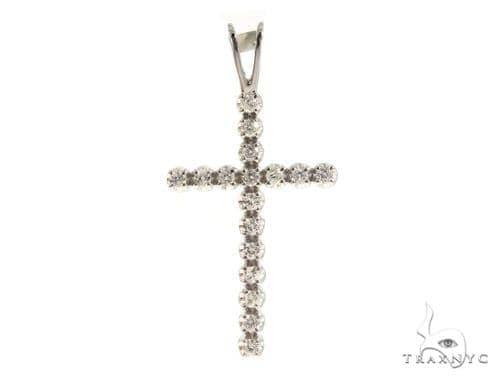 Prong Diamond Cross 49454 Diamond