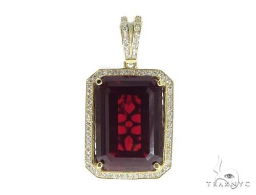 Hot Red Tresaure Gold Pendant 49585 Metal