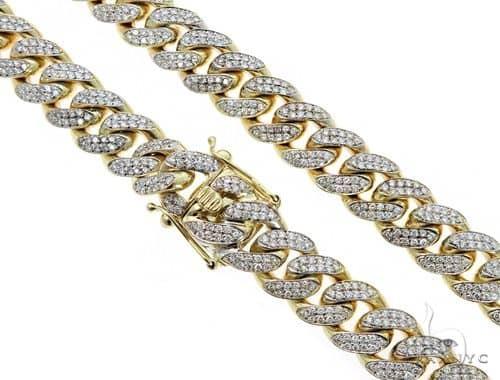 Gaston  Diamond Miami Cuban 30 Inches 15mm 364.2 Grams 49609 Diamond