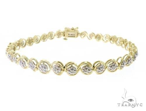 Anemone Diamond Bracelet 49614 Diamond