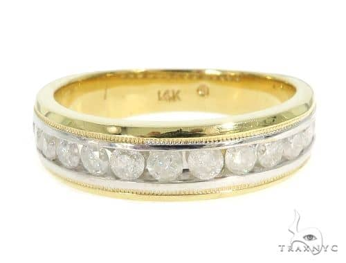 Channel Diamond Wedding Band 49653 Style