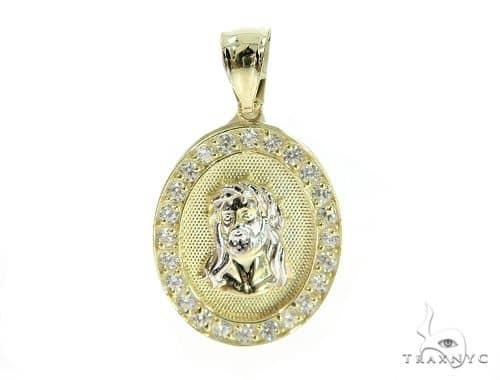 Jesus Gold Pendant 49675 Metal