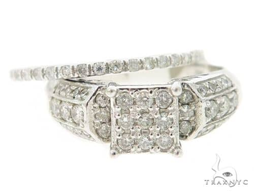 Square Head Diamond Engagement Ring Set Engagement
