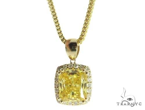 Lepus Diamond Pendant Chain Set 49158 Metal