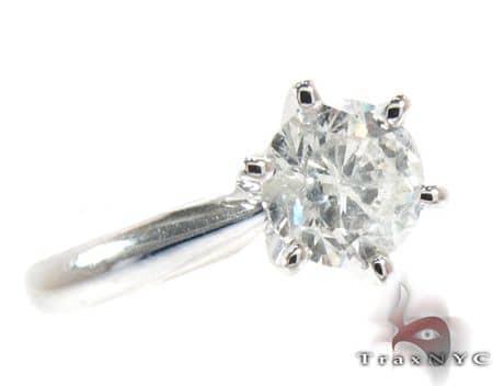 Platinum Solitaire Ring Engagement