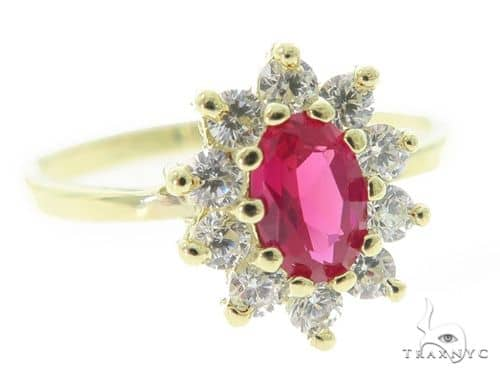 Peony Anniversary/Fashion Gold Ring 49792 Anniversary/Fashion