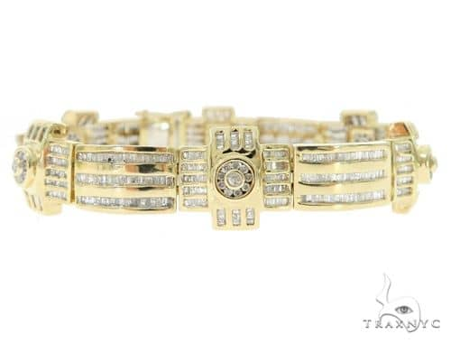 Channel Diamond Bracelet 49836 Diamond